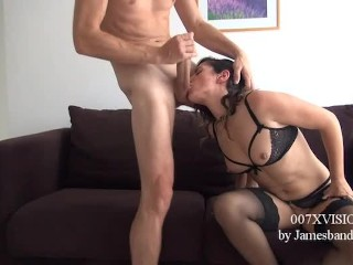007XVISION casting: Linda del  sol is tested by a big cock. Will she surviv