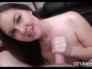 STROKIES Brittany Shae Handjob