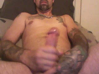 my gushing cock....