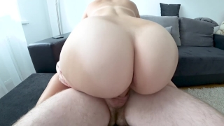 Fuck an 18 year old girl with a big ass Moaning homemade18