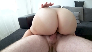 Fuck an 18 year old girl with a big ass Doggystyle pussy