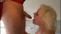 Outrageous Dutch BlondeMILF Fucked In Holland