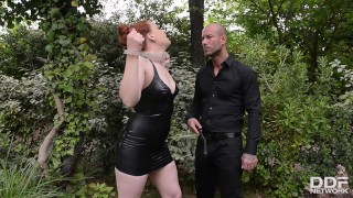 Chubby Checker Isabel Dean Throated and Fucked at High Speed!  fetish porn standing doggy style blowjob porn latex porn house of taboo houseoftaboo redhead public kink heels bondage anal porn ddfnetwork isabel dean ddf porn deep throat porn