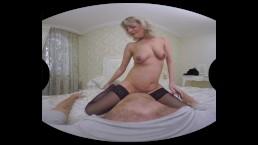 "Sherry D presents - ""almost"" granny VR porn"