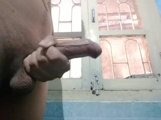Indian 8 inch Penis Cums - 1