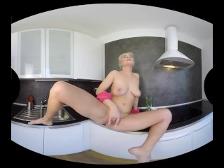 Kathy Anderson gets cozy into another intercourse in VR