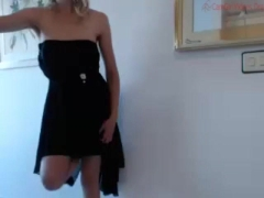 Babe long prom dress posing coconut_girl1991_261116 chaturbate LIVESHOw REC