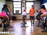 BANGBROS - Curvy Latina Rose Monroe Fucked in Spin Class by Brick Danger