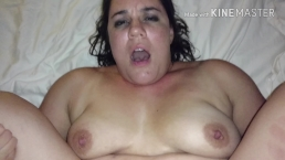 Horny MILF begs for cum in her pussy