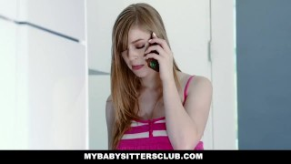 MyBabySittersClub - Babysitter Stuck In Sink Fucked By Boss Russian oral
