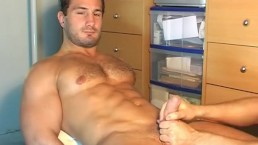 Sylvain Potard famous french sta: His cock massage ! straight guy seduced