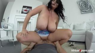 pov fuck with big boob Milf Busty Reny