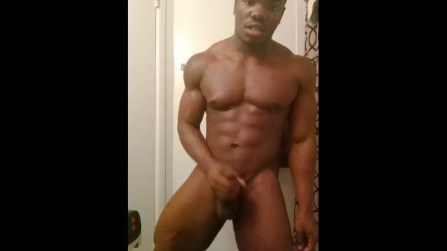 Buff Black Guy Dick