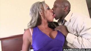 AdultMemberZone Big Titted Milf craves huge black cock
