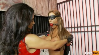 glamtie 2 - Scene 4 Gagged big