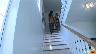 girl games scene brunette stockings