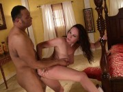 Gianna Michaels Takes a Big Black Thick Cock In Her Pussy