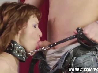 WANKZ- Trina Gets Fucked With Collar