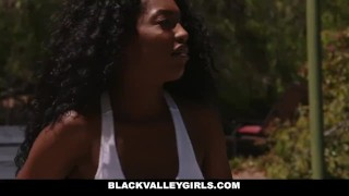 BlackValleyGirls- Preppy Black Teen Seduced By Stepdad porno