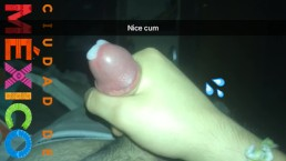 Nice cum in snapchat home alone