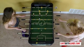 Strip looked never foosball damn so hot has tits amateurs