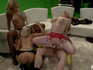 Dick vermeil coaching history katwoman xxx - scene 3 blonde busty big boobs blowjob cock sucking gro