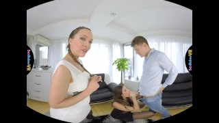 SexBabesVR - Paris Friend Part 1 with Blue Angel and Clea Gaultier