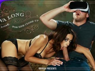 VRHUSH Hot ass Eva Long gets pussy owned by Van Wilde