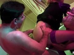 Adult porn mature woman with a man at the age of