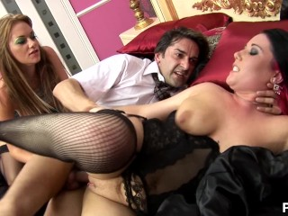 Double Syringe Pump Dress For Dinner 2 - Scene 4 Big Tits Blonde Brunette Hardcore