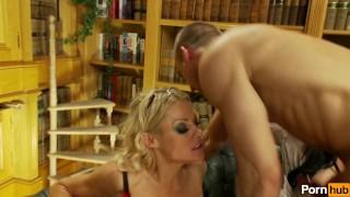 fuck the librarians - Scene 2 Cumshot orgasm
