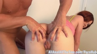 Teen Melody Jordan Take a Double Anal Creampie for All Anal! Spanking stockings