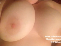 BBW Plays With Her Huge Tits