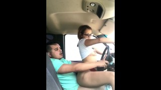 Him cheats while wife with husband best on to dirty driving see friend crazy couple
