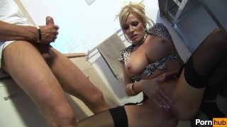 michelle thornes gay for pay 2 - Scene 5 Panties brunette