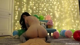 Emilylynne dildo riding at birthday porno