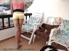 No nudity tease public balcony coconut_girl1991_201116 chaturbate REC