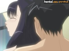 Cheating wife lets a young boy cum inside her [ENG Subs] Hentai.xxx