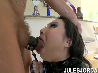 Jules Jordan - Asa Akira & Nacho Asian Squirting Machine