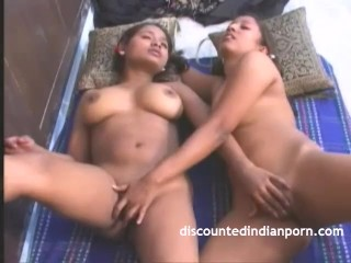 Cute Young Indian Girl Rubbing Fingering Wet Cunt
