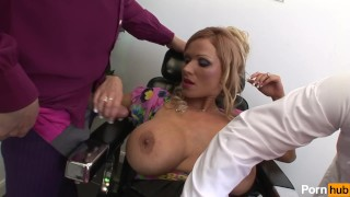scene infection chest cock blowjob