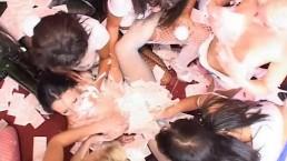 Varázslatos leszbi party