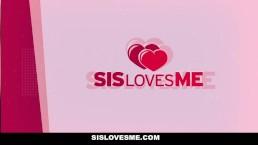 SisLovesMe - Bubble Butt Stepsis Helps Me Study