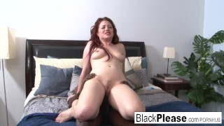 Jessica enough get sexy interracial can't redhead big cowgirl