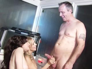Download video clip mp4 charlee chases butt fucks - scene 6 blonde brunette threesome 3some sma