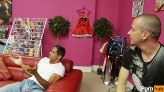 gemma masseys checkout - Scene 3 Teasing fat