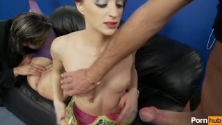Emporium porn ben  dovers scene cowgirl heels