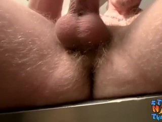 Skinny fruit Kenneth Slayer gets dirty with his cum