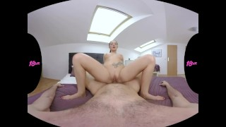 18VR Lucia Denvile Gets Dick After Massage VR Porn