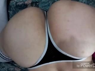 Sexy Bubble Butt Latino Ass Fishnet Fetish